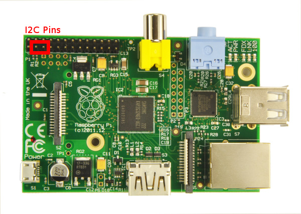 I2C on the Raspberry Pi · The Odd Bit